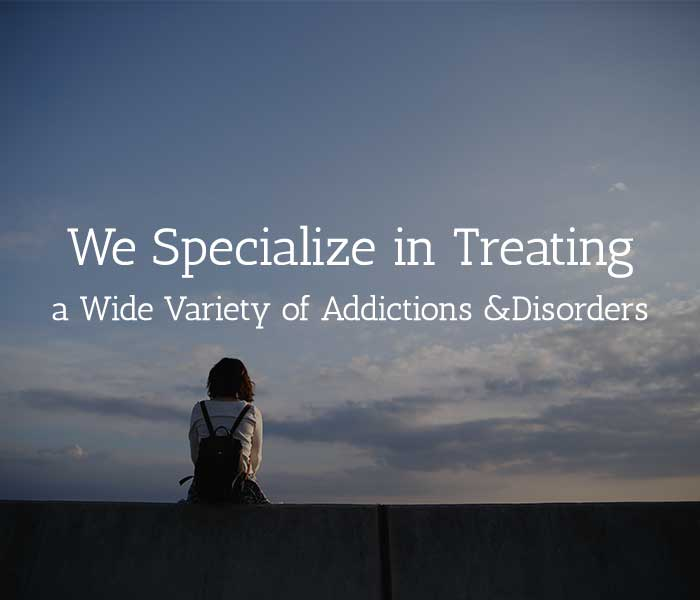 Sunsets Recovery Center | Addictions we Treat